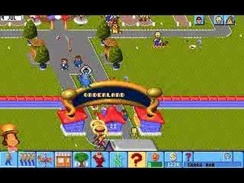 Theme park spiel