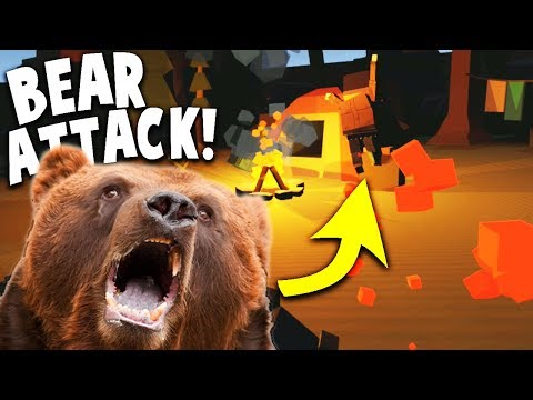 DEFENDING AGAINST BEAR ATTACK IN VR! | Just In Time Incorporated Gameplay Part 2