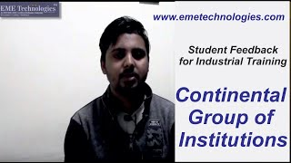 Auto Cad   Solid Works Training   Continental Group of Institutions   Student Feedback   ChandanRoy