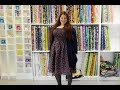 How to make an adult elastic bust shirred dress - free pattern DIY sewing tutorial by Linda Forager