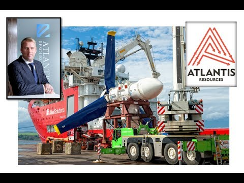 Atlantis Resources cashed up for phase I tidal power plant