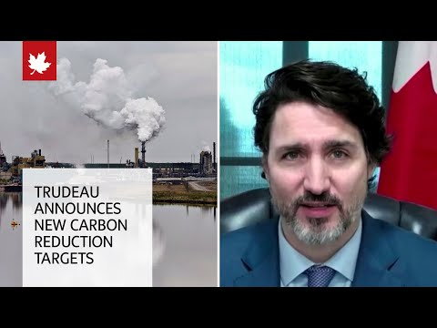 Trudeau announces new carbon reduction targets at international climate summit