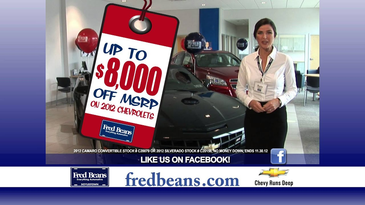 Fred Beans Chevrolet >> Fred Beans Chevrolet Of Doylestown Fred Tag Event
