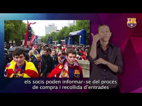 Desplaçaments amb el FC Barcelona