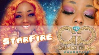 Gamer Glam Cosmetics ✧ Starfire Look