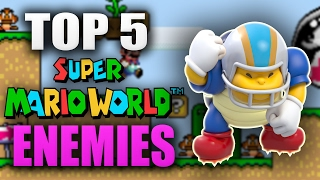 Top 5 Enemies From Super Mario World