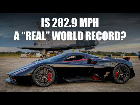 SSC Tuatara Record Re-Run: Is 282.9 mph a Real Record?
