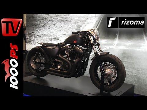 Rizoma Neuheiten 2016 | Harley-Davidson Sportster FortyEight