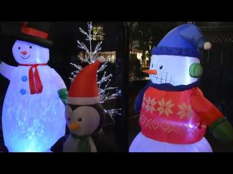 Home Depot Canada outdoor seasonal displays
