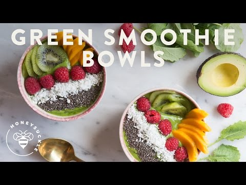 EASY Green Smoothie Bowls!