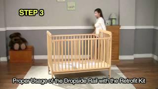 Rails-retrofit Kit Dropside Crib Instructions Video.mov