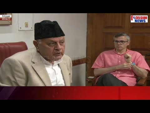Farooq Abdullah chairs all party meet on Art 35-A