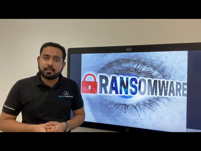What is ransomware? How does it affect your system?