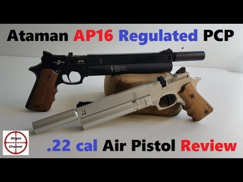 Ataman AP16 Pistol Review - Best PCP Air Pistol EVER! (.22 caliber Pellet Gun)
