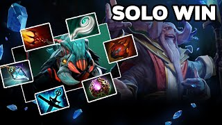 HOW TO SOLO Aghanim's Labyrinth including FINAL Boss - TI10 Summer Event Dota 2
