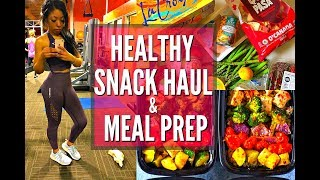 HEALTHY GROCERY HAUL, FAVORITE SNACKS FOR WEIGHT LOSS + MEAL PREP MADE EASY