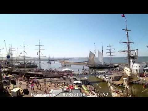 Tall Ships Races Harlingen 2018 | Sail-Inn (timelapse)
