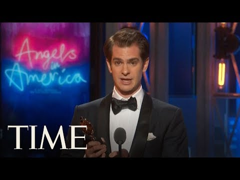 Andrew Garfield Wins Tony Award For Angels In America | TIME