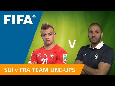 Switzerland v. France - Teams Announcement