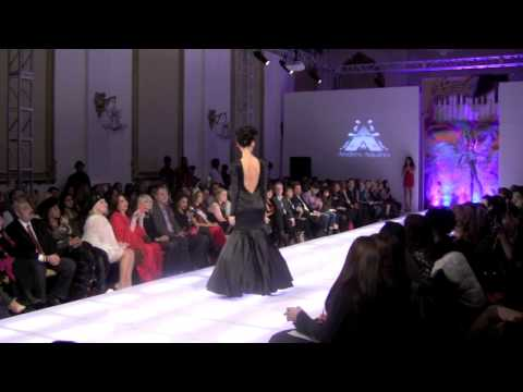 COUTURE FASHION WEEK 2014 ANDRES AQUINO RUNWAY SHOW AND BROADWAY SINGS FOR PRIDE