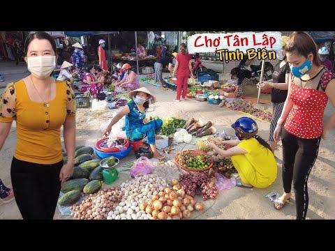 Gặp khó khăn quay chợ Tân Lập Tịnh Biên An Giang