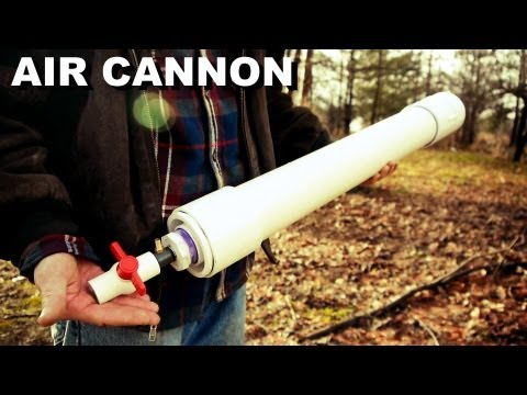 How to Make a Powerful Coaxial Piston Cannon from Hardware Store Parts