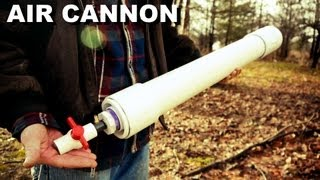 How Make Powerful Coaxial Piston Cannon Hardware Store Parts