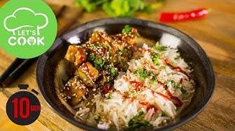 REZEPT: Asiatische Teriyaki Bowl | Tofu richtig braten