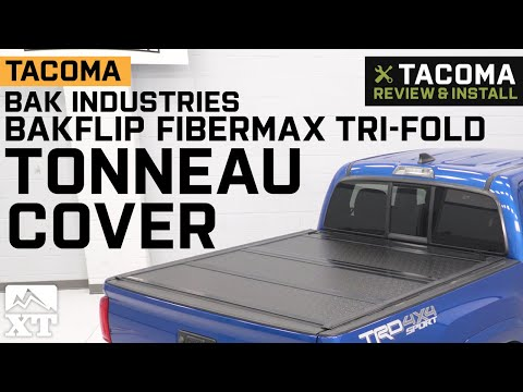 Tacoma BAK Industries BAKFlip FiberMax Tri-Fold Tonneau Cover (2016-2019) Review & Install
