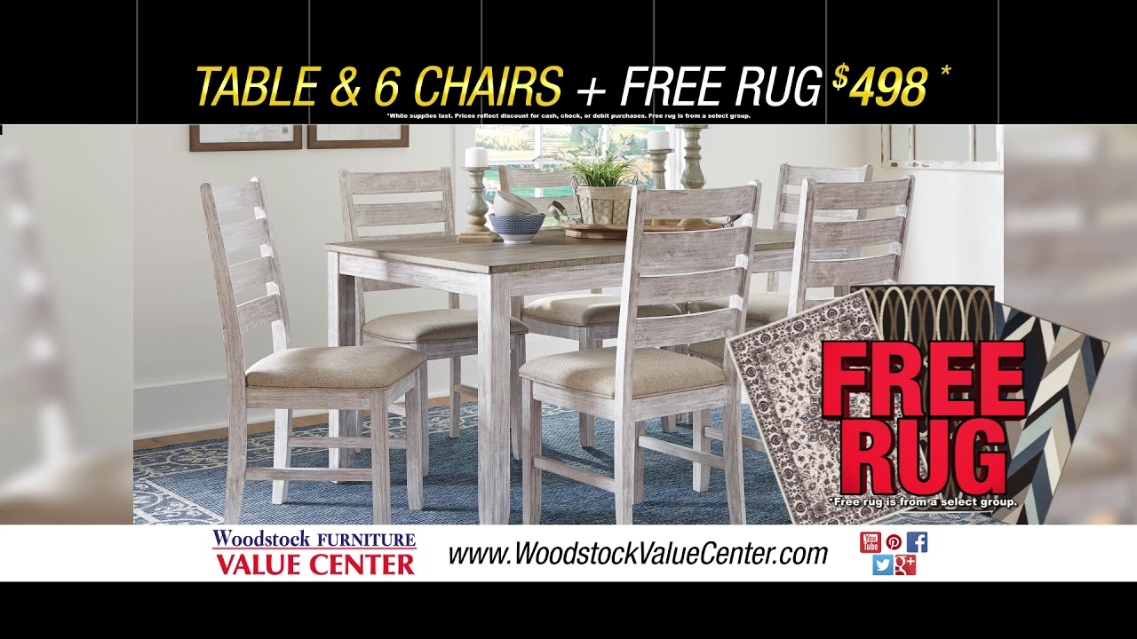 Woodstock Furniture Value Center Month Long Black Friday 2018