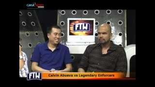 FTW: Calvin Abueva vs Legendary Enforcers