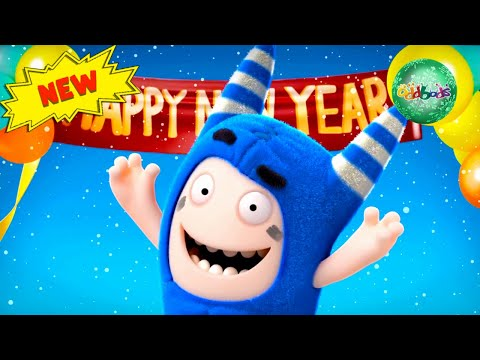 Oddbods | HAPPY NEW YEAR! | Funny Cartoons For Kids