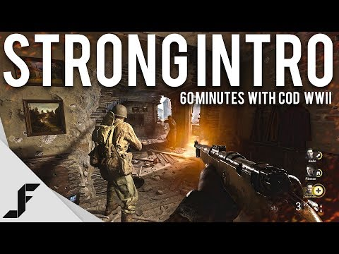 STRONG INTRO - Call of Duty WW2 4K 60FPS (60 Minutes with)