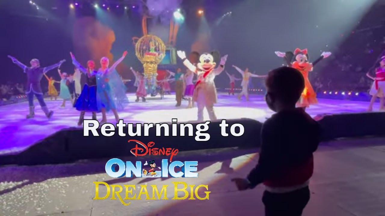 The Return of Disney on Ice   Dream Big - March 2021   Rinkside Seats   Club Lexus @ BB&T Center