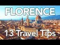 13 Tips for a FANTASTIC Trip to Florence
