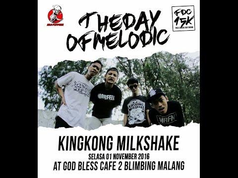 Kingkong Milkshake Live at GOD BLESS CAFE 2 Malang