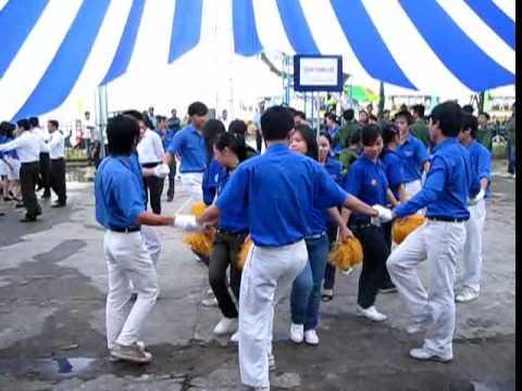 Bài múa Thanh niên làm theo lời Bác - ngày hội Khúc Quân hành