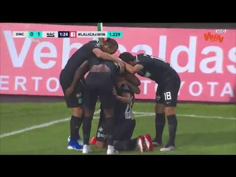 Once Caldas vs. Nacional (1-2) | Liga Aguila 2019-II  -Fecha 1