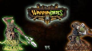 Warmachine & Hordes - Circle Orboros (E-Krueger) vs. Trollbloods (E-Madrak) - 50pt Battle Report