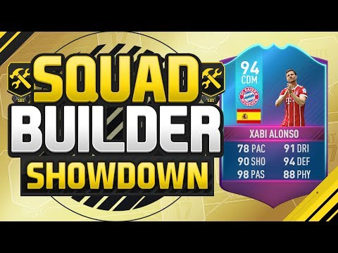 FIFA 17 SQUAD BUILDER SHOWDOWN!!! LEGEND XABI ALONSO!!! End Of Era Xabi Alonso SBC