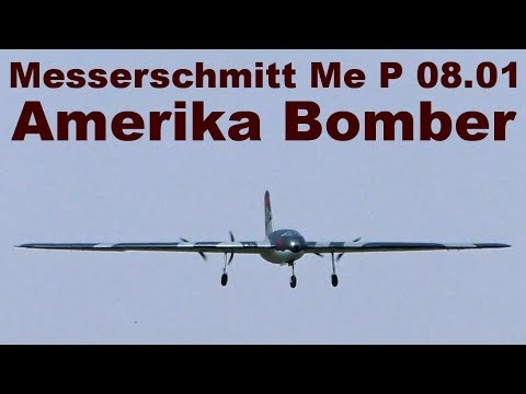 Messerschmitt Me P 08.01 Amerika Bomber, Giant RC Flying Wing, JMM 2019