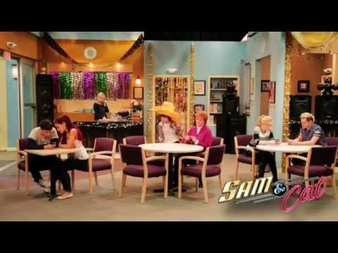 Sam & Cat Cast Doing The Harlem Shake !