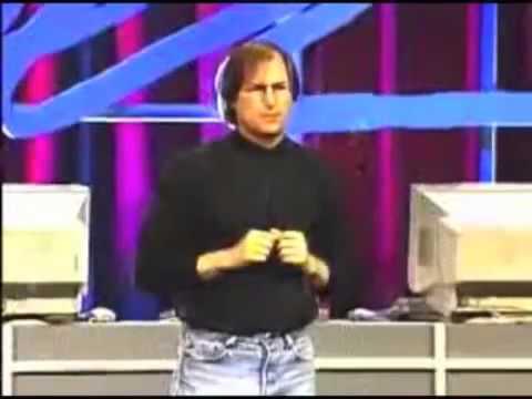 Steve Jobs describes iCloud  in 1997