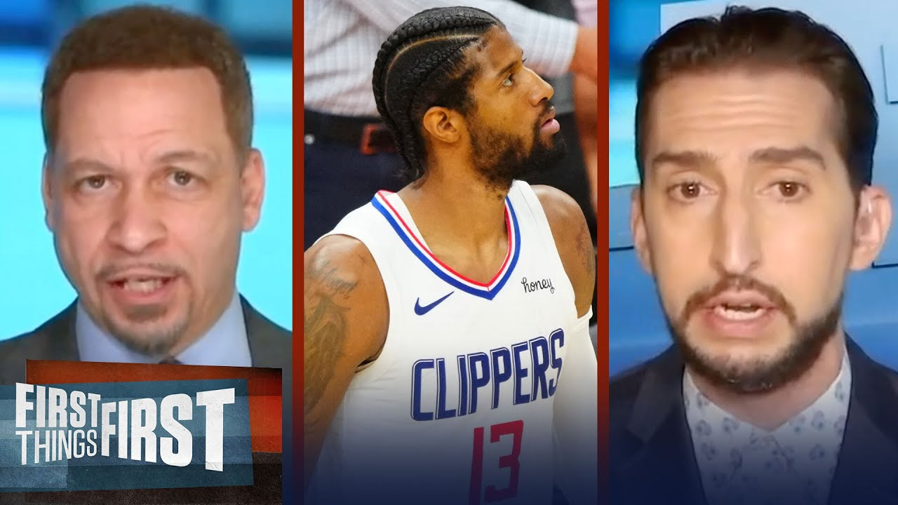 Nick & Broussard on if Clippers can once again come back from 0-2 deficit   NBA   FIRST THINGS FIRST