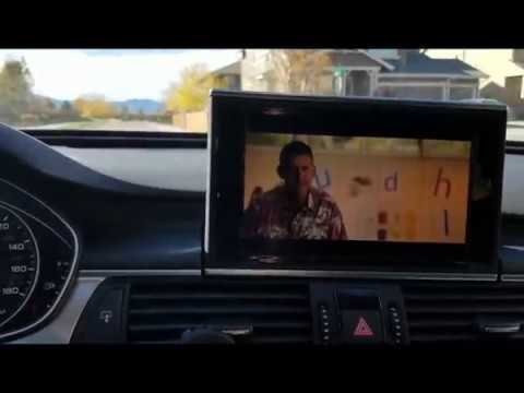 Enable video in motion (VIM) on 2012 - 2015 Audi A6 3 0T (C7 4G) MMI 3G+  using VCDs