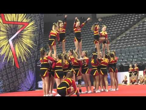 Elite Cheer At Battle of the Midwest