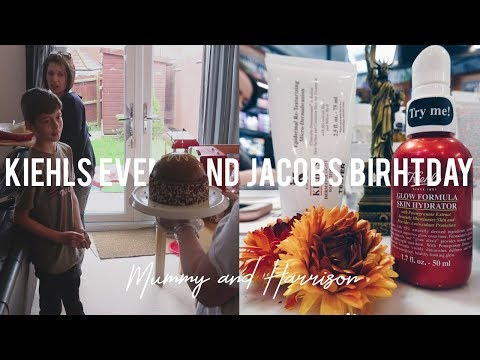 Kiehls Event and Jacobs Birthday 2018 | UK FAMILY VLOGGERS | Mummy and Harrison