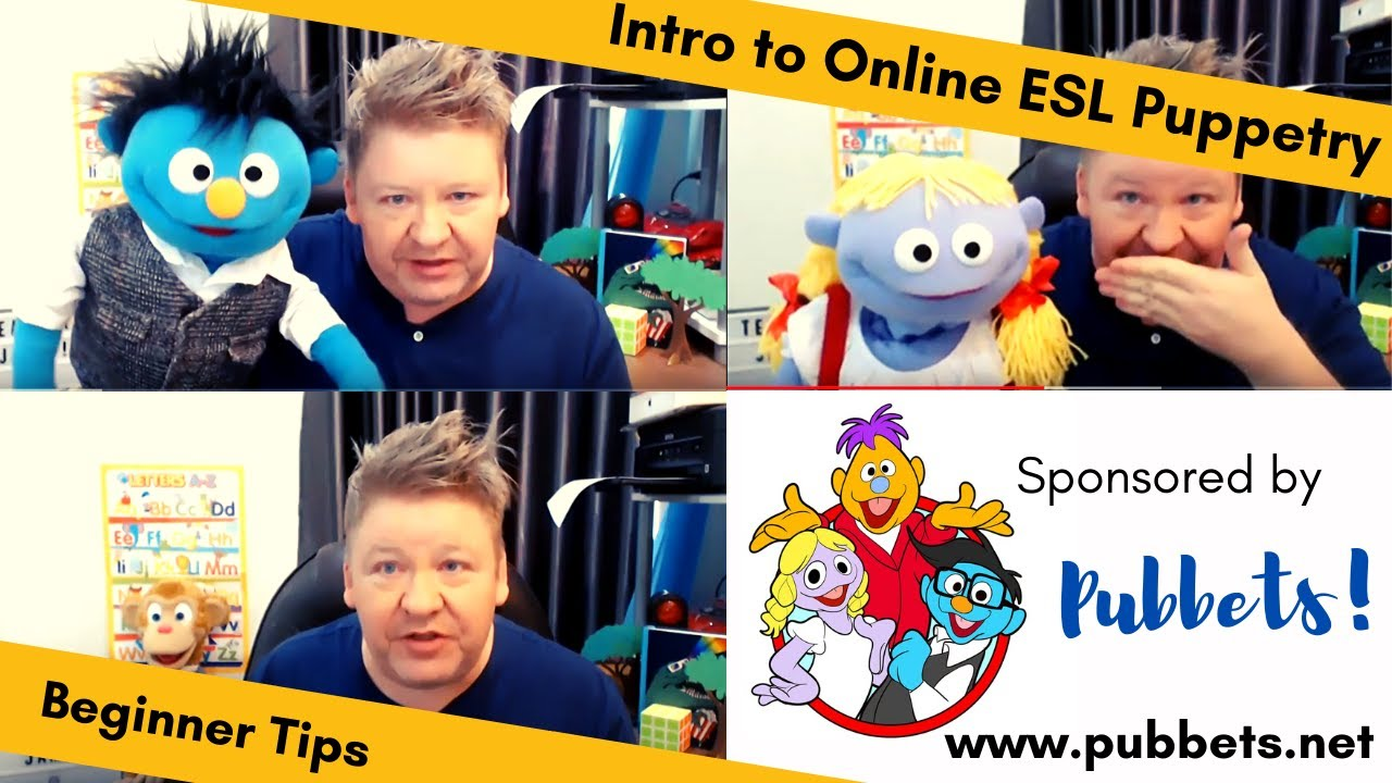 Introduction to Online ESL Puppetry!