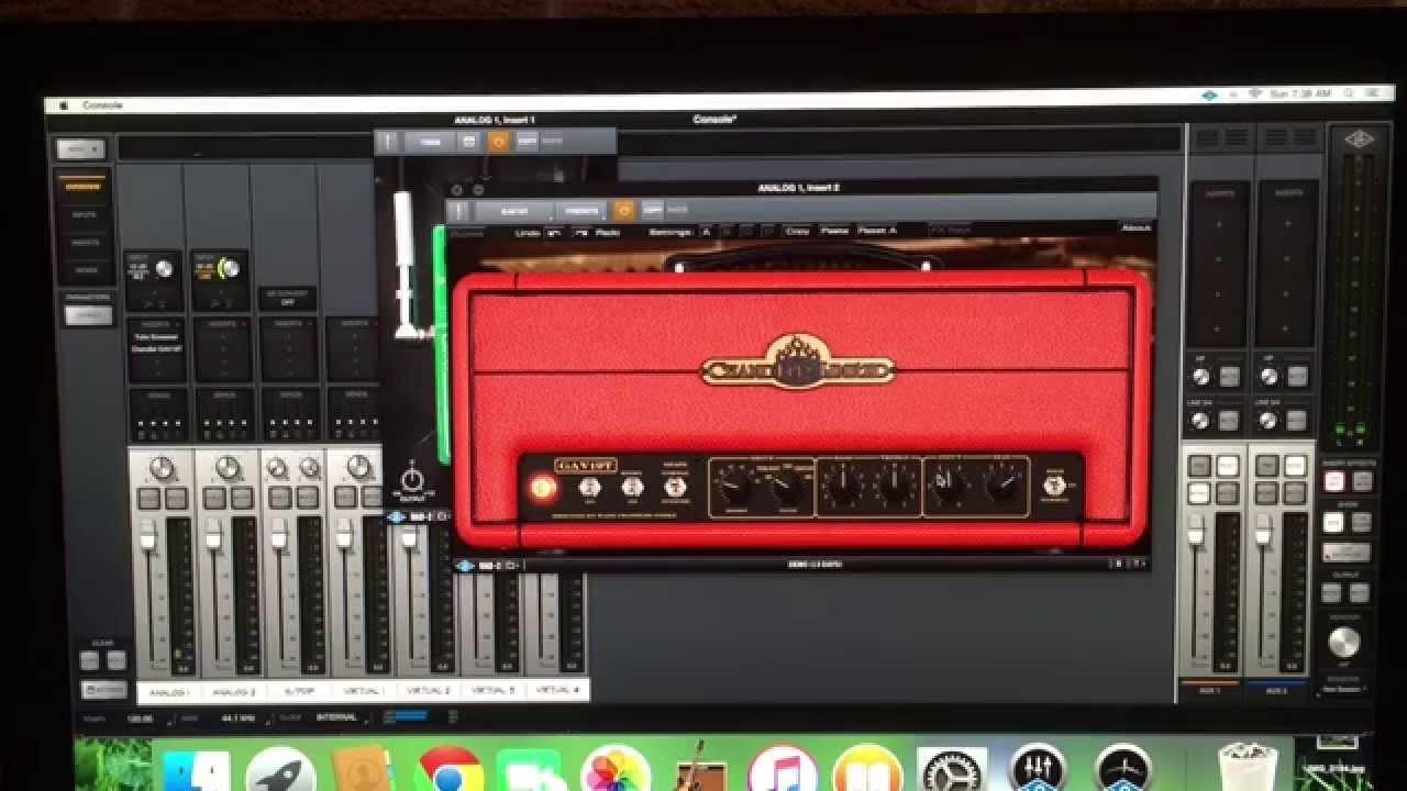 garageband recording with uad plug ins youtube. Black Bedroom Furniture Sets. Home Design Ideas
