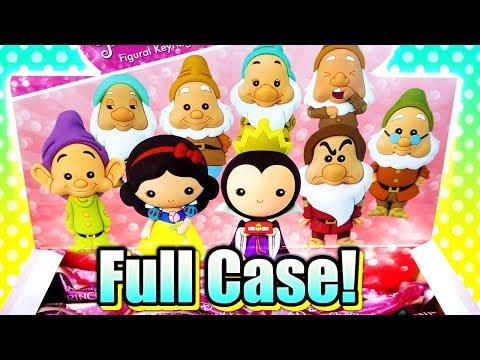 Disney Princess Snow White Figural Keyring Surprise Blind Bags FULL CASE Unboxing!
